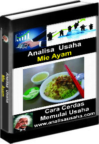 Cover Ebook Mie Ayam Analisa Usaha Mie Ayam