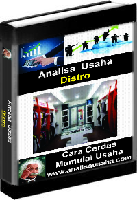 Cover Ebook Distro Analisa Usaha Distro