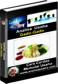 Cover Ebook Gado gado Analisa Usaha Gado gado