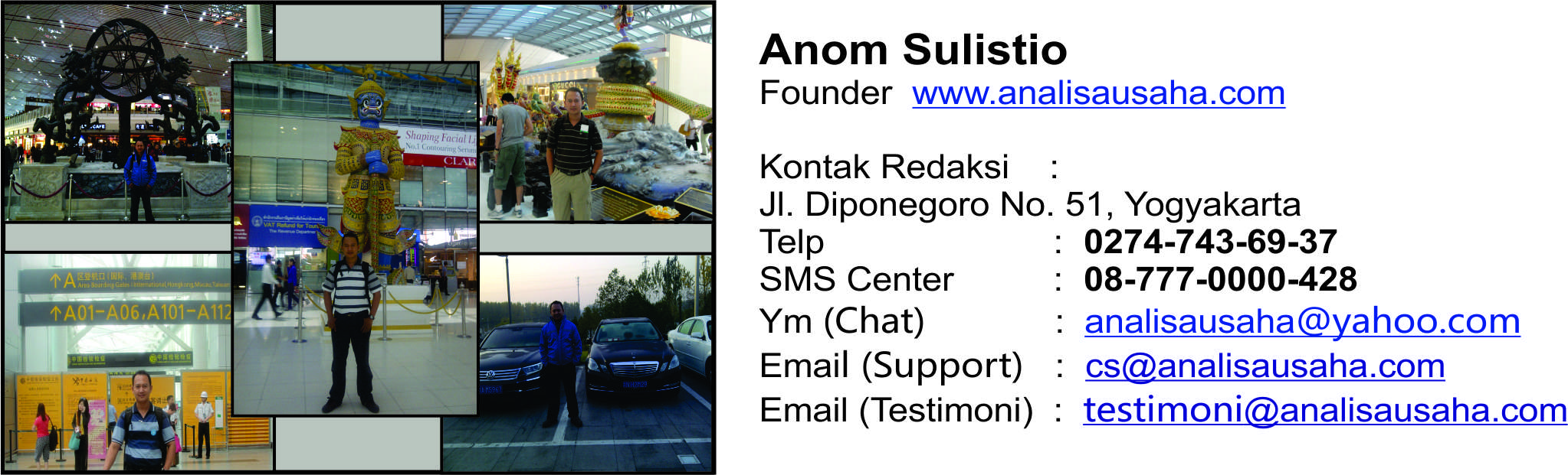 Profile Anom 3 Analisa Usaha Distro