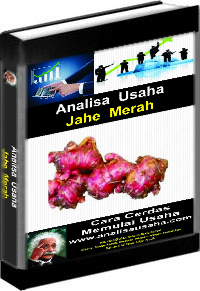 Cover Ebook Jahe Merah Analisa Usaha Jahe Merah
